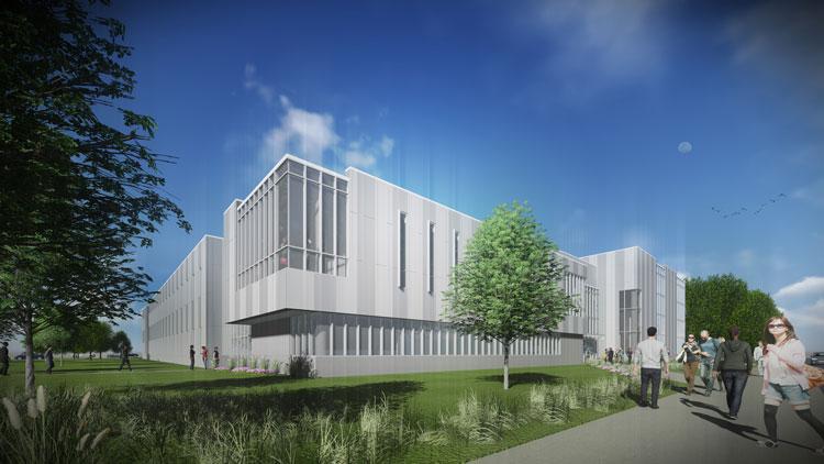 Rendering of the Engineering Innovation Building