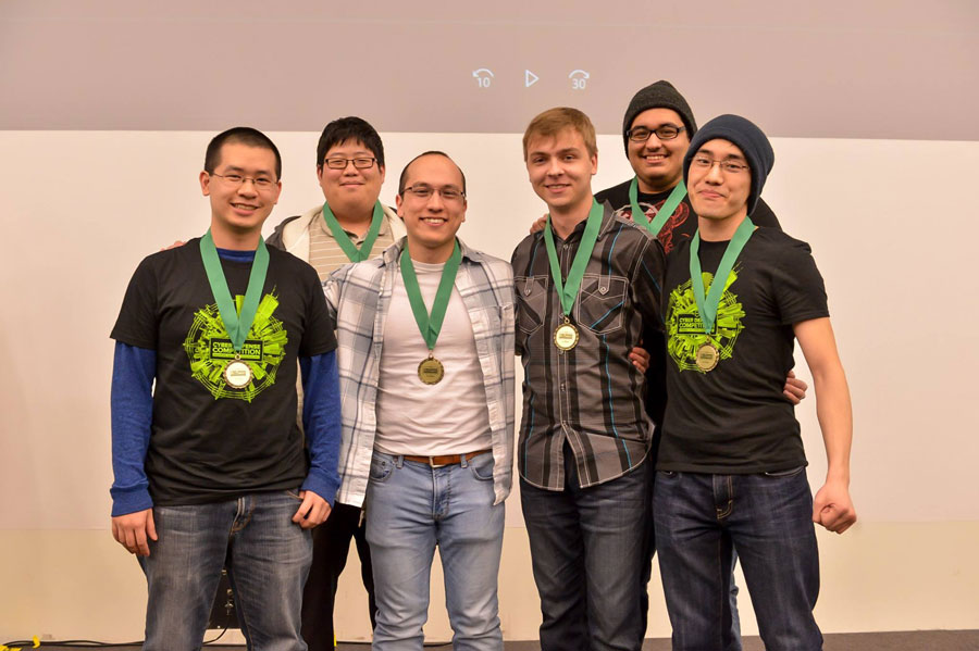UIC computer science students receive medals
