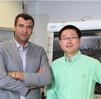 Professor Shahbazian and Yifei Yuan