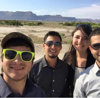 Students at Green River, Utah