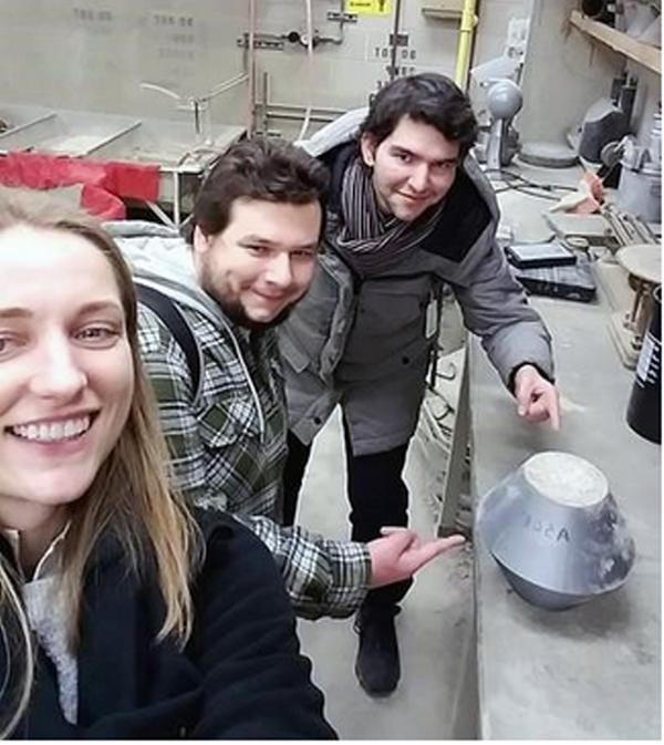 Ioannis Peiralis, Magda Przewozniak, and Mitchell Horn