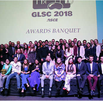 Students at GLSC Awards Banquet