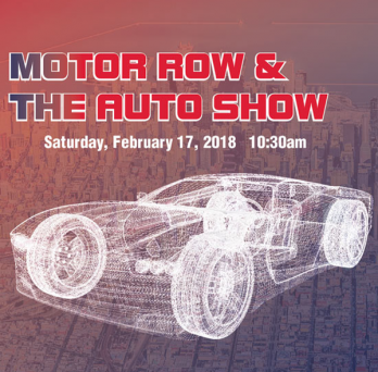 Motor Row and the Auto Show Event cover