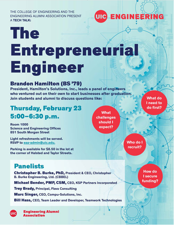 The Entrepreneurial Engineer Cover