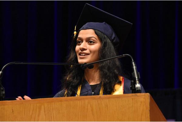 CS graduate Anusha Pai