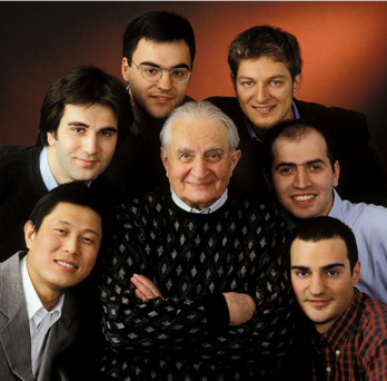 Professor Litvin with Students