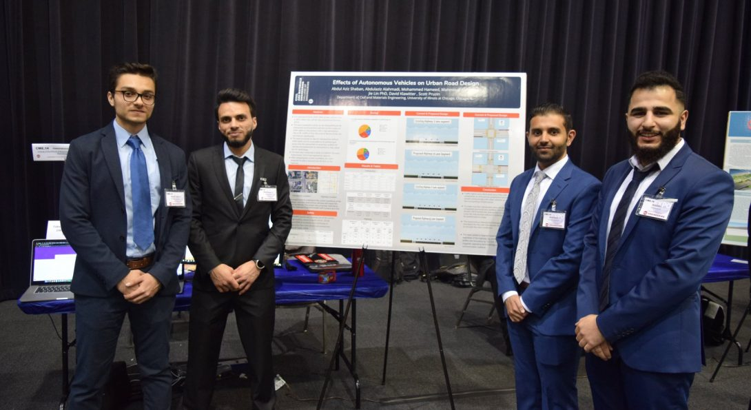 CME Students at Engineering Design Expo