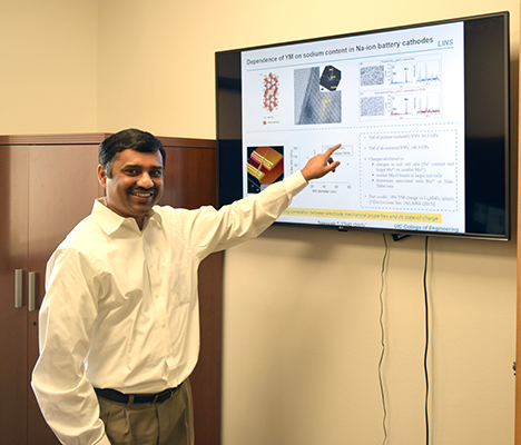 Professor Subramanian Lecturing