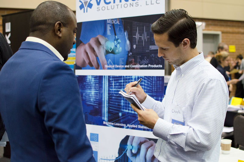 Employer at Engineering and Computer Science Career Fair