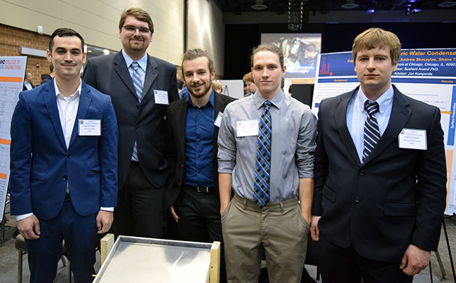 Students at Annual Engineering EXPO