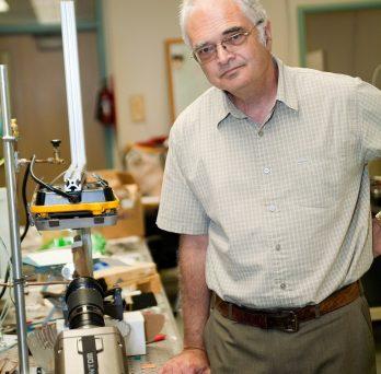 Professor Yarin at lab