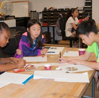 Students at Summer Engineering camp
