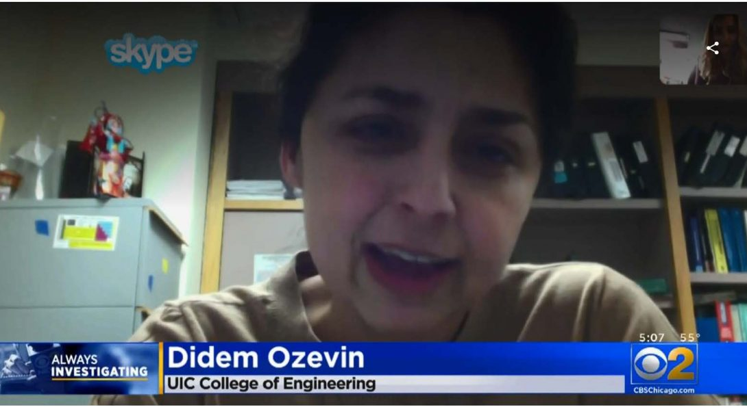 Professor Didem Ozevin talks with CBS