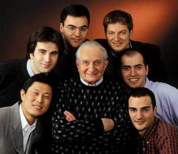 Professor Litvin with Students