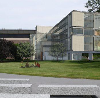 Rendering of the CDRLC building
