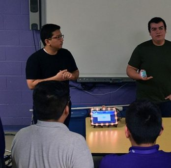 ECE students present projects