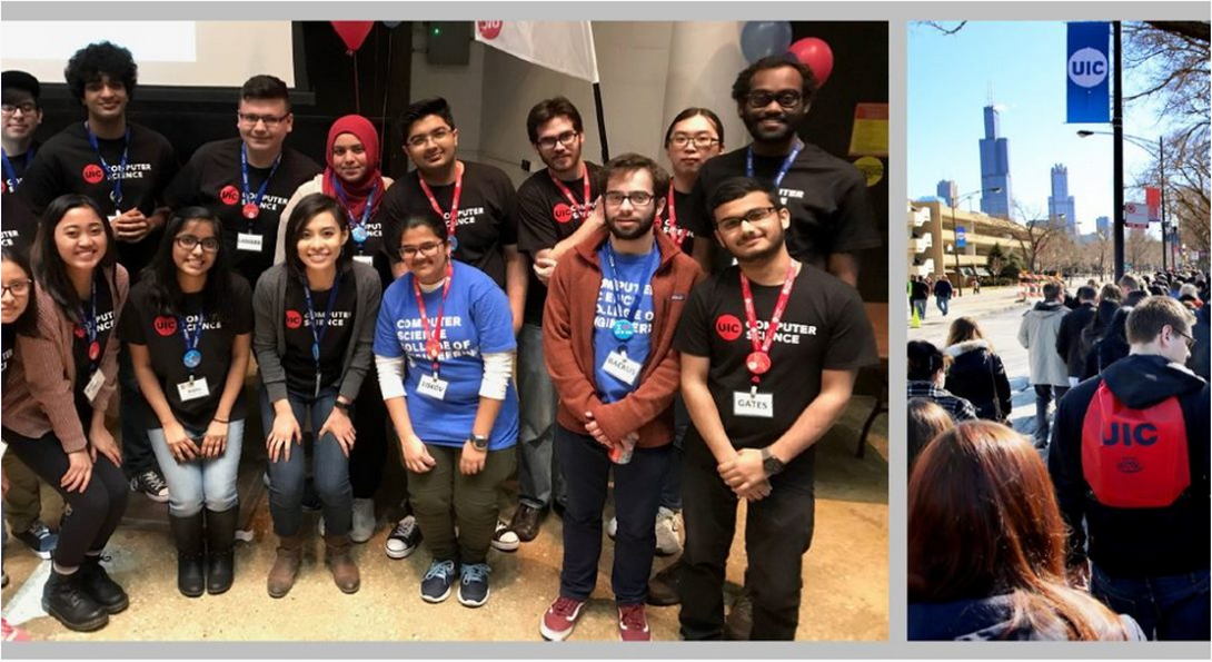 UIC computer science students