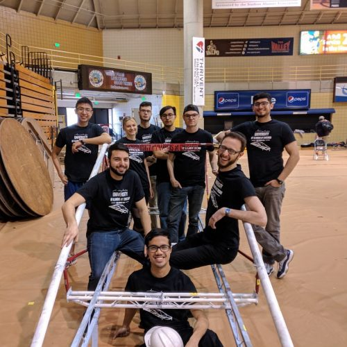 steel bridge competition team