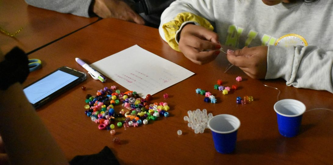 building a binary code bracelet