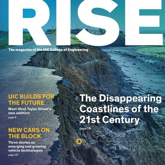 RISE magazine cover, fall 2019