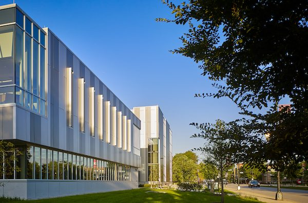 facade of the Engineering Innovation Building