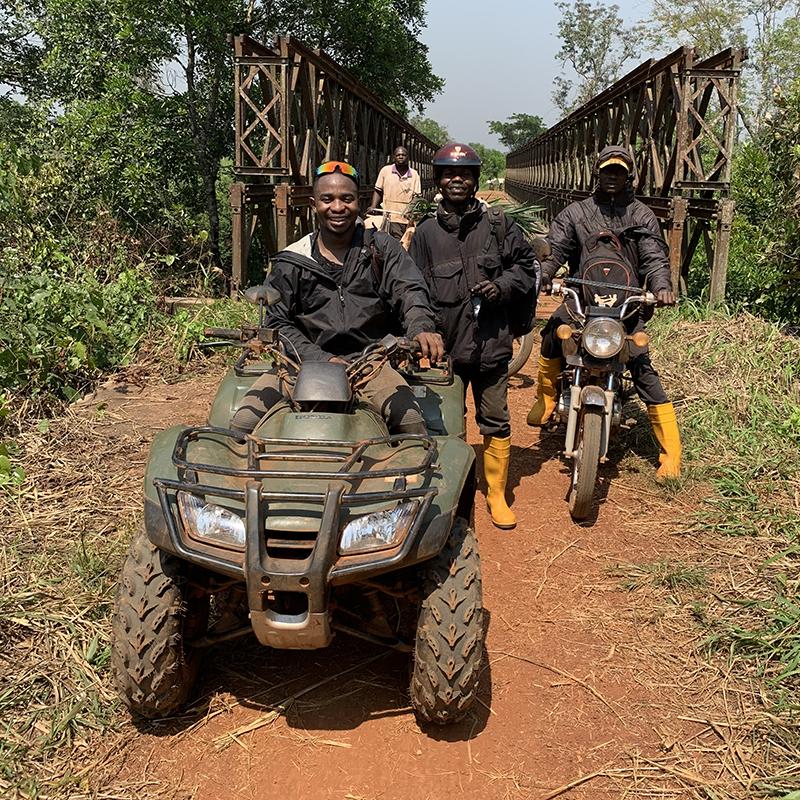 CME Tresor Moolo in Congo