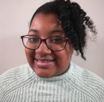 student Kaylynn Arrington